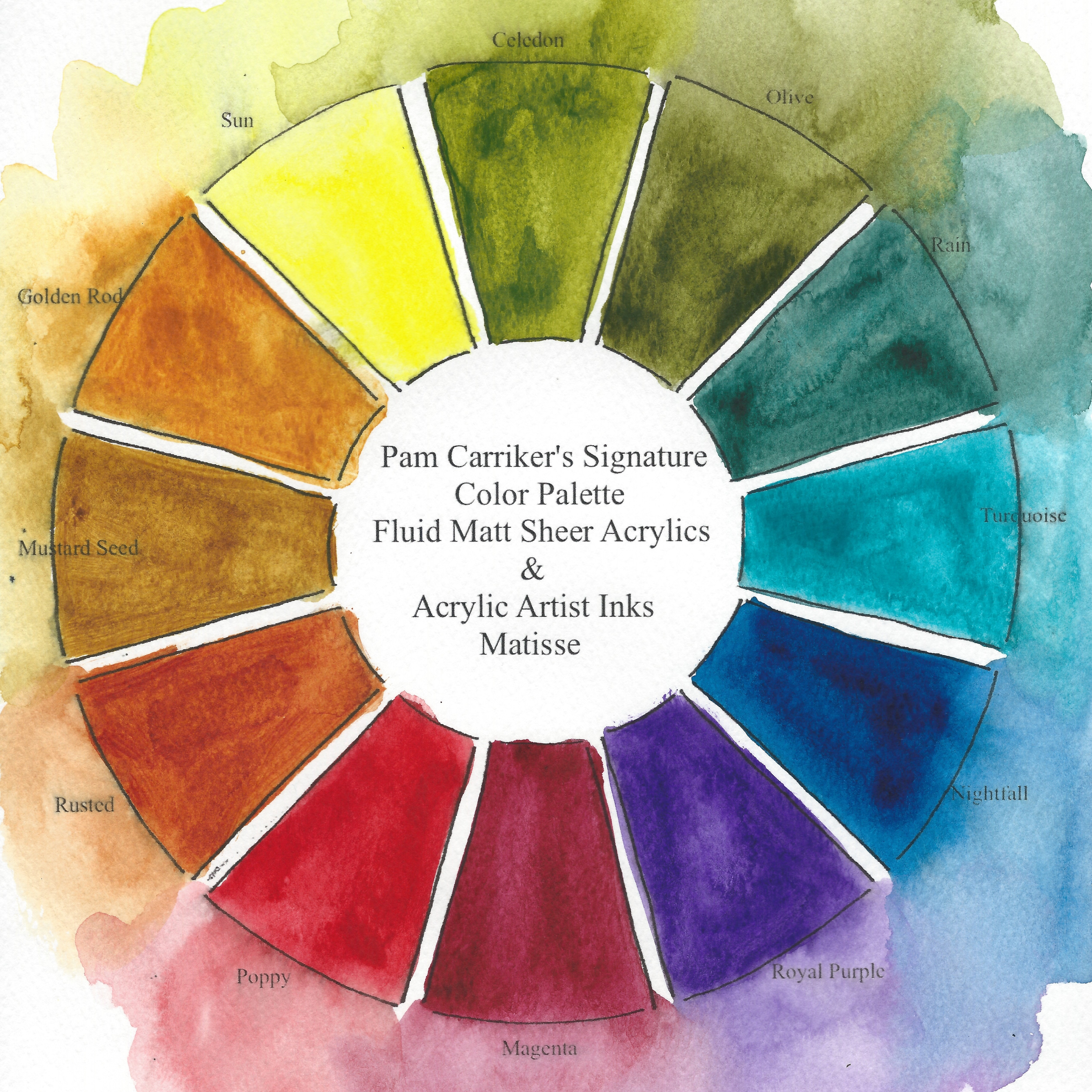 Colors That Work Well Together 187 Signature Mixed Media Products Art At The Speed Of Life