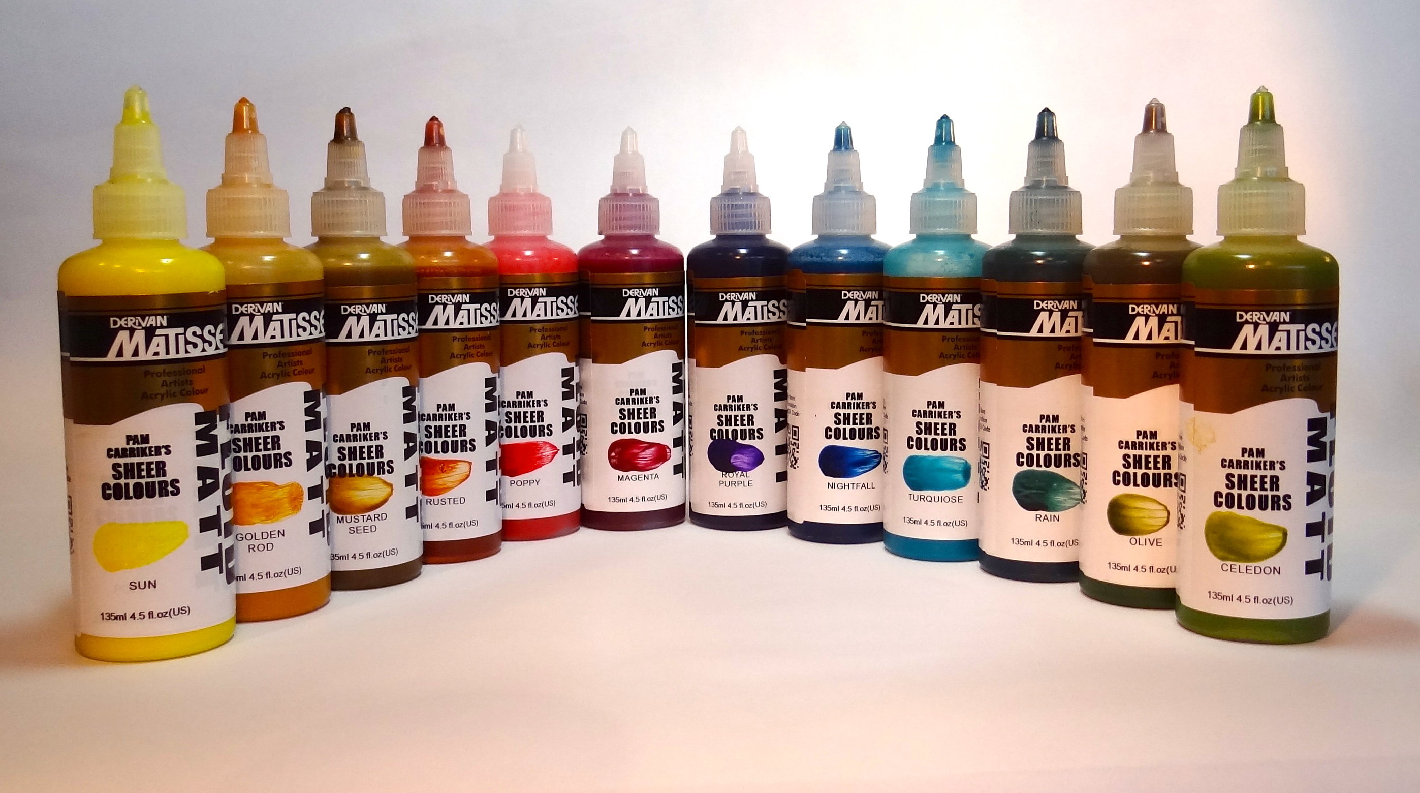 PCarriker Matte Fluid Sheer Colours1
