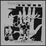 """6x6 Journaling Left Hand Stencil S056 6""""x6"""""""