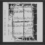 "Window Ledger Stencil S040 9x12 and 6""x6"""