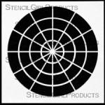 """6x6 Hue Tint Tone Shade Stencil S117 6""""x6"""""""