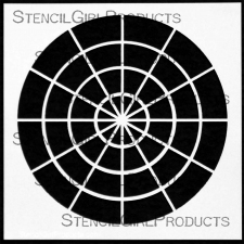 """Hue Tint Tone Shade Stencil S117 6""""x6"""""""