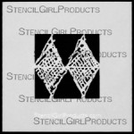 "4x4 Journal Texture #7 Stencil M032 4""x4"""