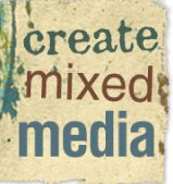 create mixed media badge