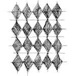 Sketched Harlequin Grid