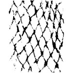 Sketched Chain Link Fence