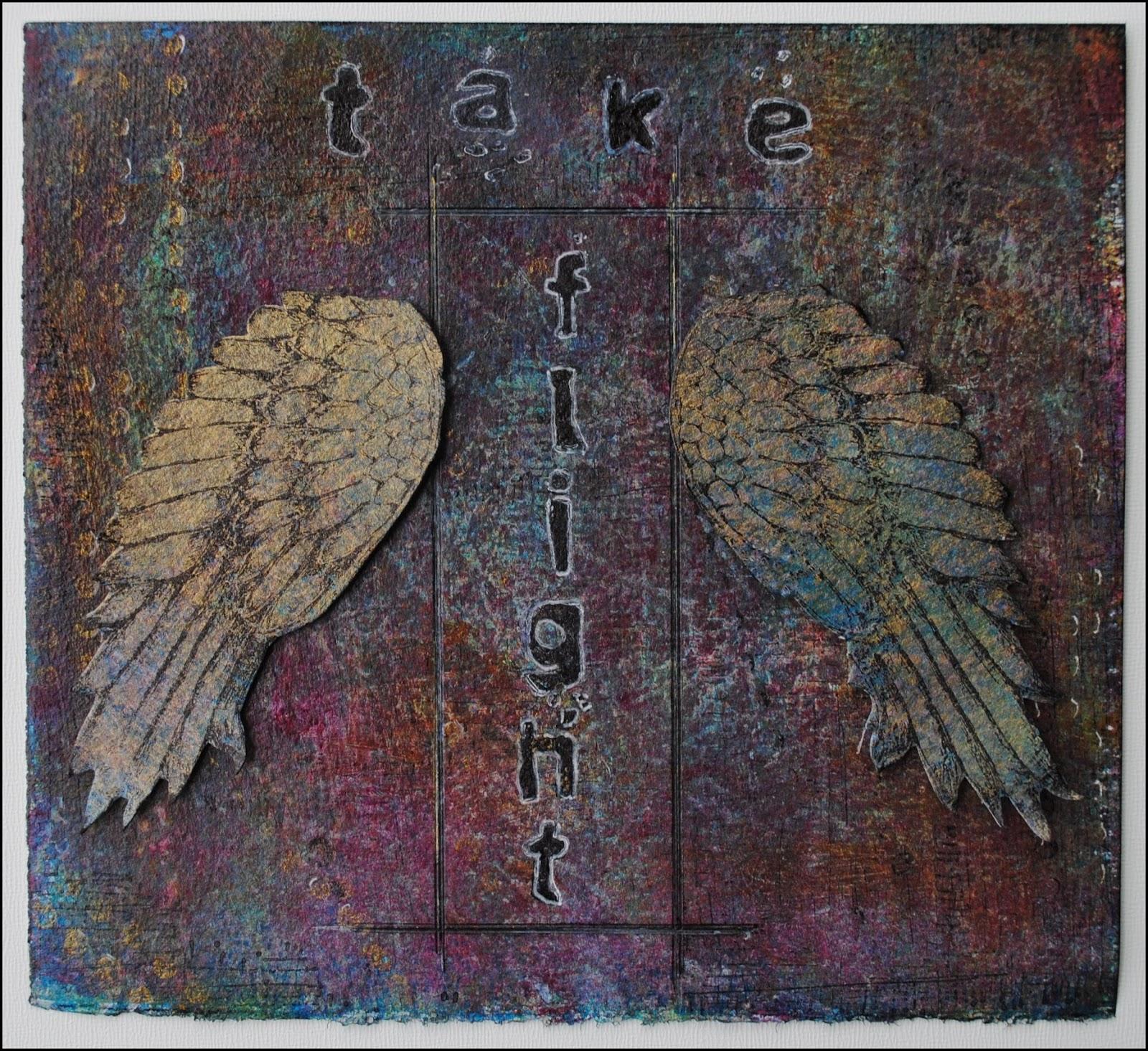 Seth Apter Stamp Piece