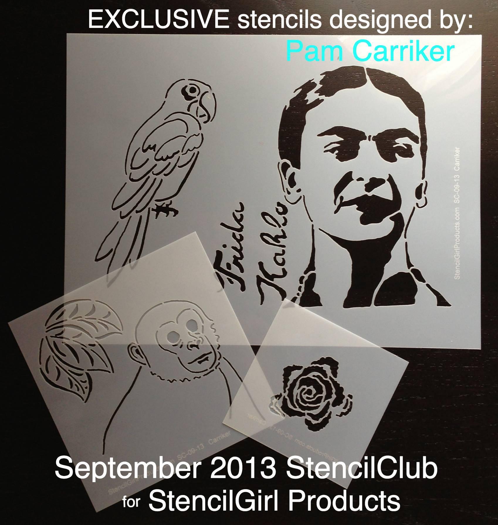 Stencil Club September 2013
